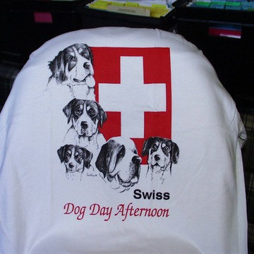 Swiss Day T-ShirtAPTS02Available in White onlySizes:Small, Medium, Large, XLarge$18.00